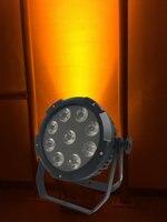 10X Rasha 6in1 Alimentado Por Bateria LEVOU Luz Par de Alumínio 9*18 W RGBAW UV LED Par Pode Com 13200 MAH Da Bateria do Controle Remoto Sem Fio controle