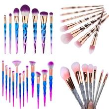 New Super Soft Hair Fashion Design Cosmetic Makeup Brushes Set Foundation Eyeshadow Brush Eyeshadow Blusher Makeup Brushes Tool