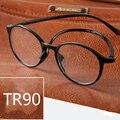 Puntos Redondos Para Las Mujeres Gafas de Lectura de Titanio De alta Calidad Para Hombres gafas De Lectura 1.0 1.5 2.0 2.5 3.0 3.5 4.0 Barato delgado