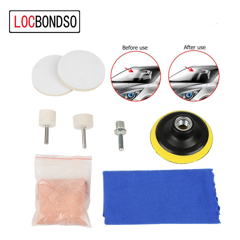 Back To Search Resultstools Trustful 7pcs New Glass Scratch Remover 70g Cerium Oxide Polishing Kit 2 Inch Wheel+wool Felt Polishing Buffing Wheel Grinding Pad