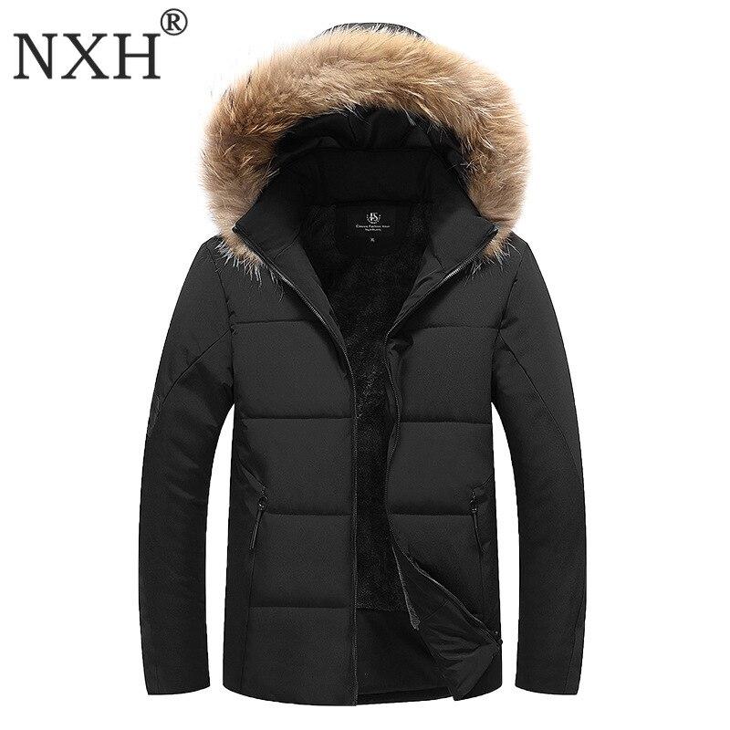 Nxh Doublure Fourrure Taille Marque D'hiver Warmjackets Brise De Et 30 Degré Manteau Grande 9xl Hommes Épais Parka vent Plus Manteaux vNm80Own