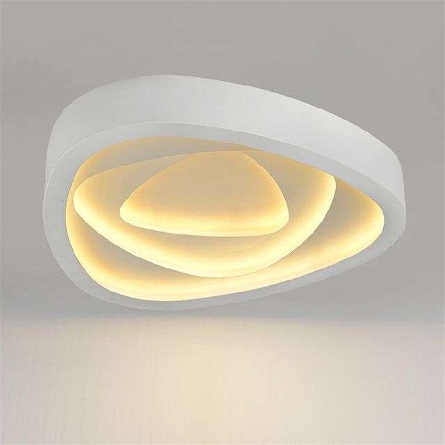 Witte Moderne Led Plafondlamp Woonkamer Lichten Metalen Ijzer ...