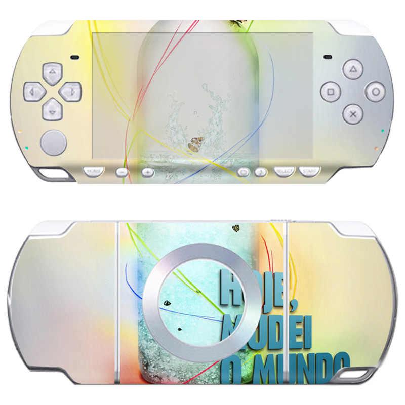Livraison directe gratuite merveilleuse et populaire conception série wrap autocollant pour Sony PSP 2000 peau de protection # TN-PP2000-320