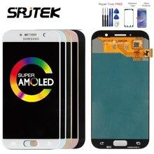 Оригинальный 5,2 «Super AMOLED ЖК-дисплей для SAMSUNG Galaxy A5 2017 Дисплей Сенсорный экран планшета A520 A520F SM-A520F ЖК-дисплей Замена