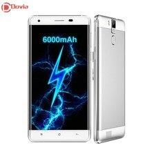 Oukitel k6000 pro 5.5 «Android 6.0 MTK6753 Окта основные 3 ГБ RAM 32 ГБ ROM 4 Г LTE Смартфон 13MP Dual Sim 6000 МАч