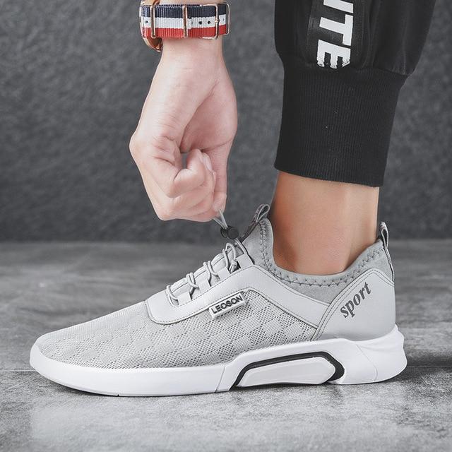 sports shoes 08fa2 9b36b 2018 primavera nuevos hombres zapatos para caminar hombres corriendo  deportes adolescentes viaje salvaje al aire libre
