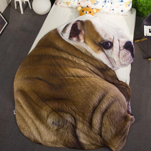 Summer Bedding Thin Quilt Children Bedroom Cartoon Dog Pattern Autumn Blanket Soft Comfortable Exquisite Quality Sleep Quilt