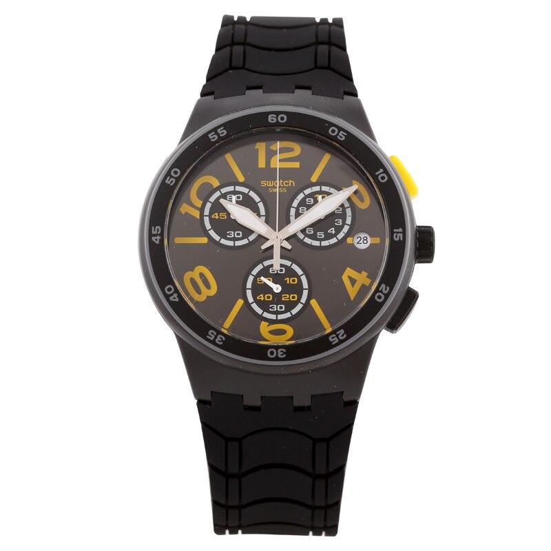 Swatch/Swatch Watch Jelly Timing Series Multi-function Chronograph Quartz Watch SUSB412 swatch original colorful quartz watch suob135