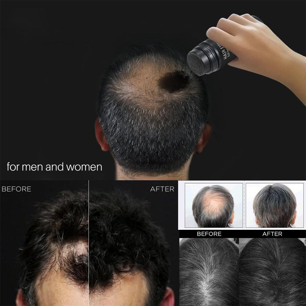 Keratin Hair Fibers Thickening Concealer Loss Baldness Hairline Optimizer Therapy Dense Hair Growth Beauty Cosmetic Tool in Hair Loss Products from Beauty Health