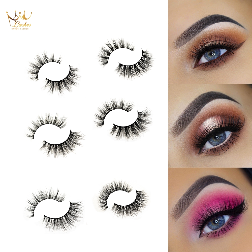 Beauty Essentials Beauty & Health Crown Lashes 6d Mink Eyelashes Wispy Cross Eye Lashes Fluffy Handmade Mink Eyelashes Vendors