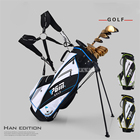 QB026 Nylon Cloth Golfbag Mens women Golf Bags 14 Plunger Putter Cover Bag Waterproof Pack Cover Trolley Bag Golf Accessories