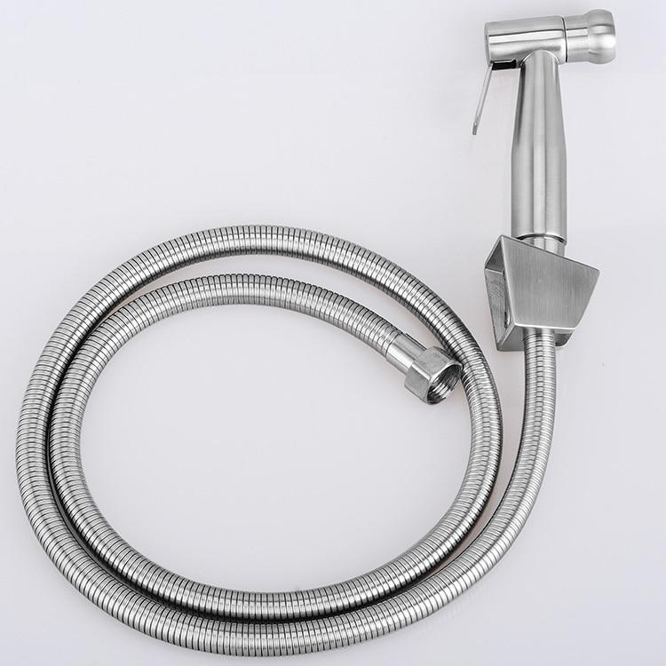 All Sus304 Stainless Steel Toilet Handheld Diaper Sprayer Shower Shattaf Bidet Spray Douche Kit Jet Hose Holder E980n Shattaf Bidet Spray Diaper Sprayershattaf Bidet Aliexpress
