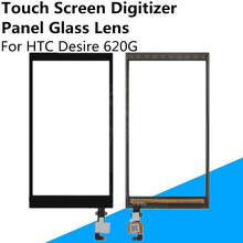 New Black Front Touch Screen Digitizer Panel Glass Lens Sensor For HTC Desire 620G Replacement Parts Repair Part FreeShipping