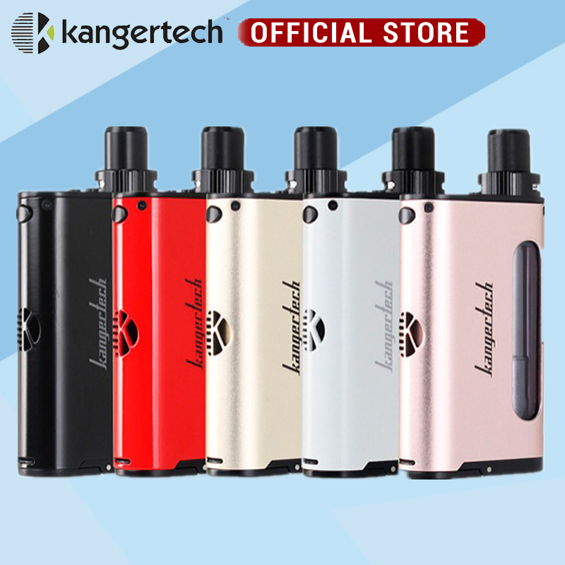 kanger cupti starter 75W TC AIO Kit with 5ml Atomizer SS316L 1 5ohm CLOCC CORE