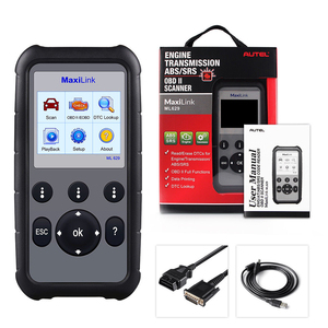 Image 5 - Autel ML629 Maxi Link Diagnose Werkzeug Auto OBD2 Scanner Code Reader ABS Airbag Code Reader Upgrade Autel ML619 AL619