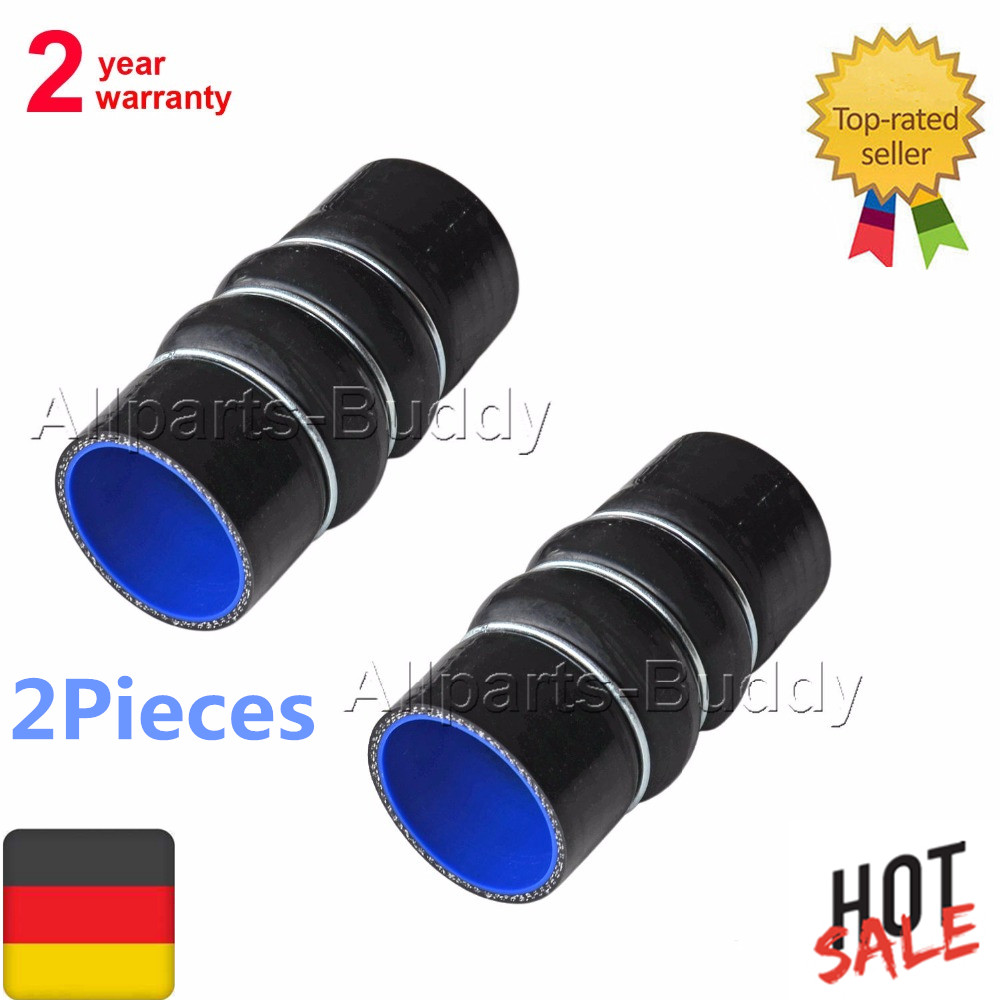 2 PCS OF INTERCOOLER TURBO HOSE PIPE For FORD TRANSIT CONNECT P65 P70 P80 1.8 TDCI OE# 1201165 1417829 2T1Q6N650AB p65 5 откр