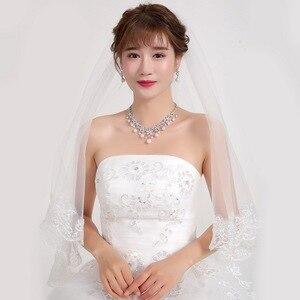Image 5 - WEIMANJINGDIAN kübik zirkonya ve kabuk inci çiçek kolye ve küpe düğün gelin takı seti