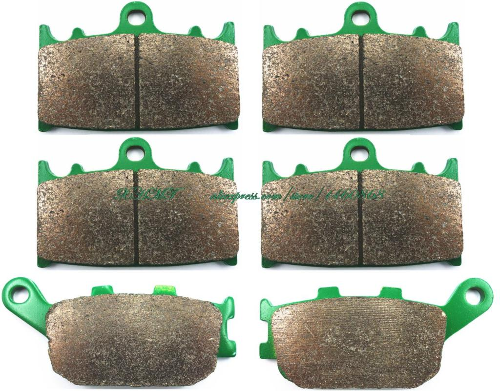 Brake Shoe Pads Set For Suzuki Gsf650 Gsf 650 Naked Bandid Non Abs / A Abs 2007 2008 2009 2010 2011