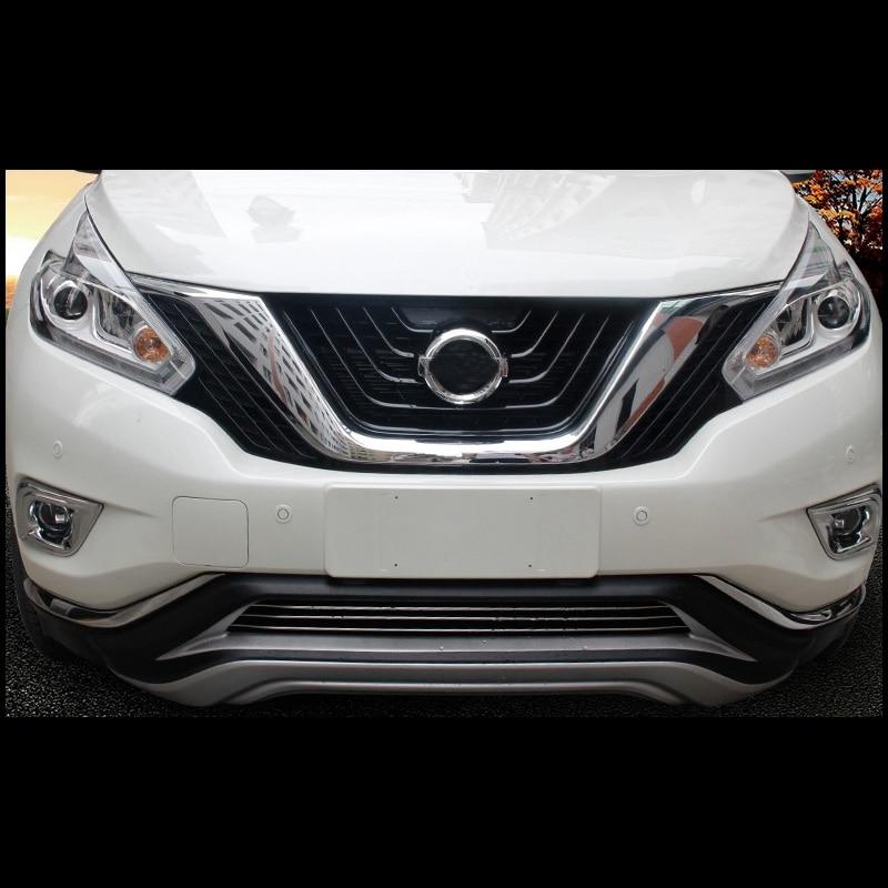 Araba-styling ABS krom ön arka sis lambaları Nissan Murano Z52 2015 - Araba Parçaları - Fotoğraf 2