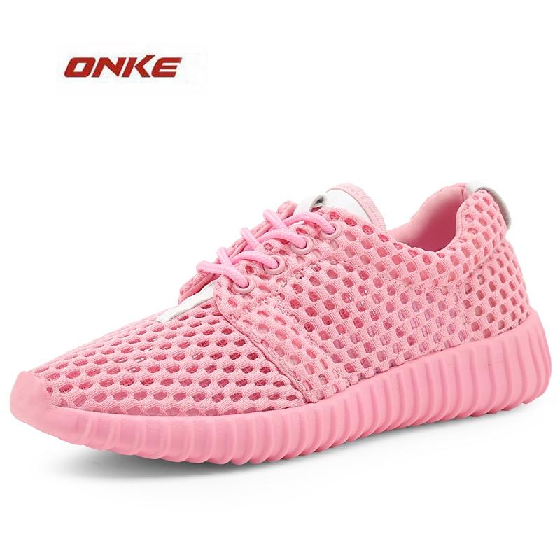 2017 Promotion Lady Light Weight Net Fabric Summer Breathbale Sneaker Woman Sports Running Footwear Pink 5 Colors On Discount bestdvr 805 light net в москве