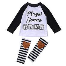Baby Boys Girls Toddler Long sleeve T shirt Tops Leggings Children Clothing font b set b