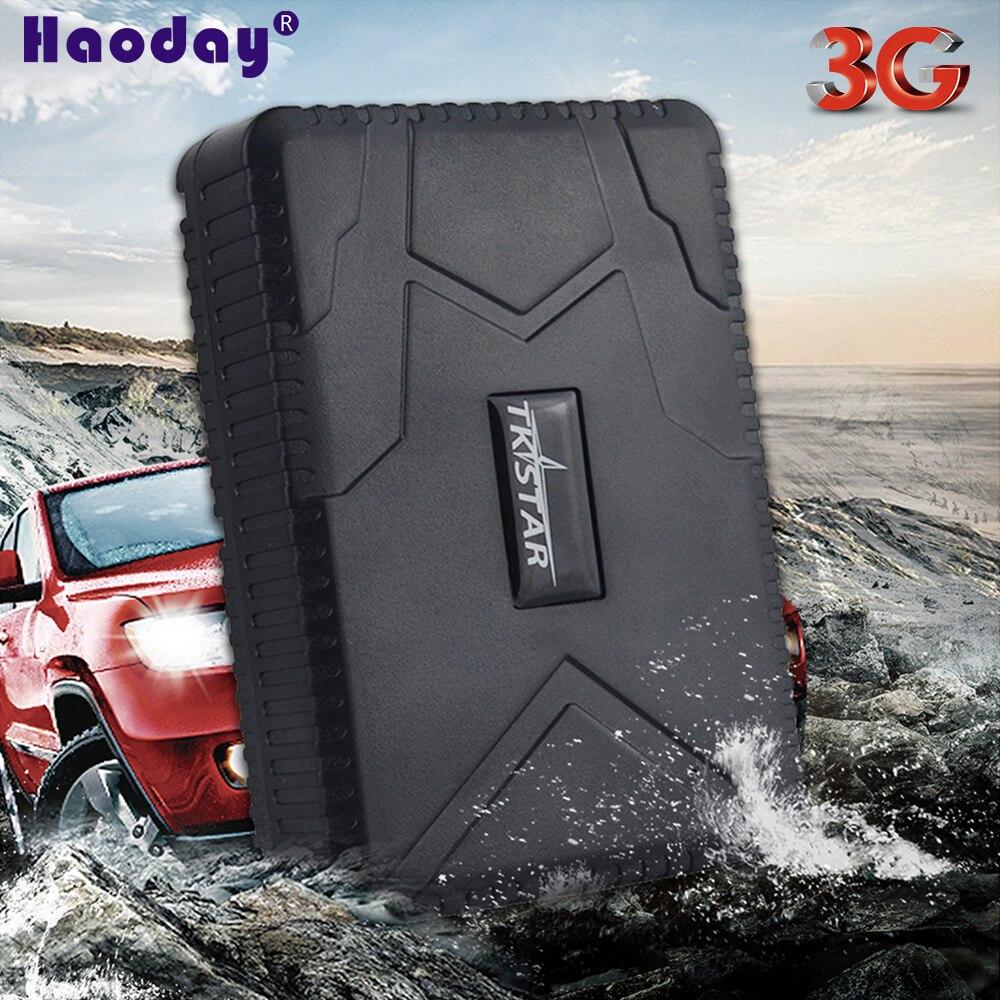 Multi-fonction suivi intelligent localisateur TK915-3G 3G WCDMA voiture GPS Tracker 7800 mAh longue veille étanche à distance moniteur vocal