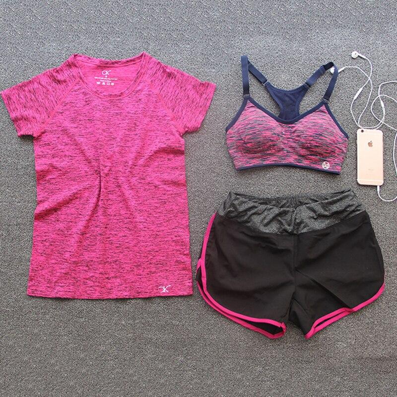 font b women b font sport set 3PCS fitness font b women b font suit