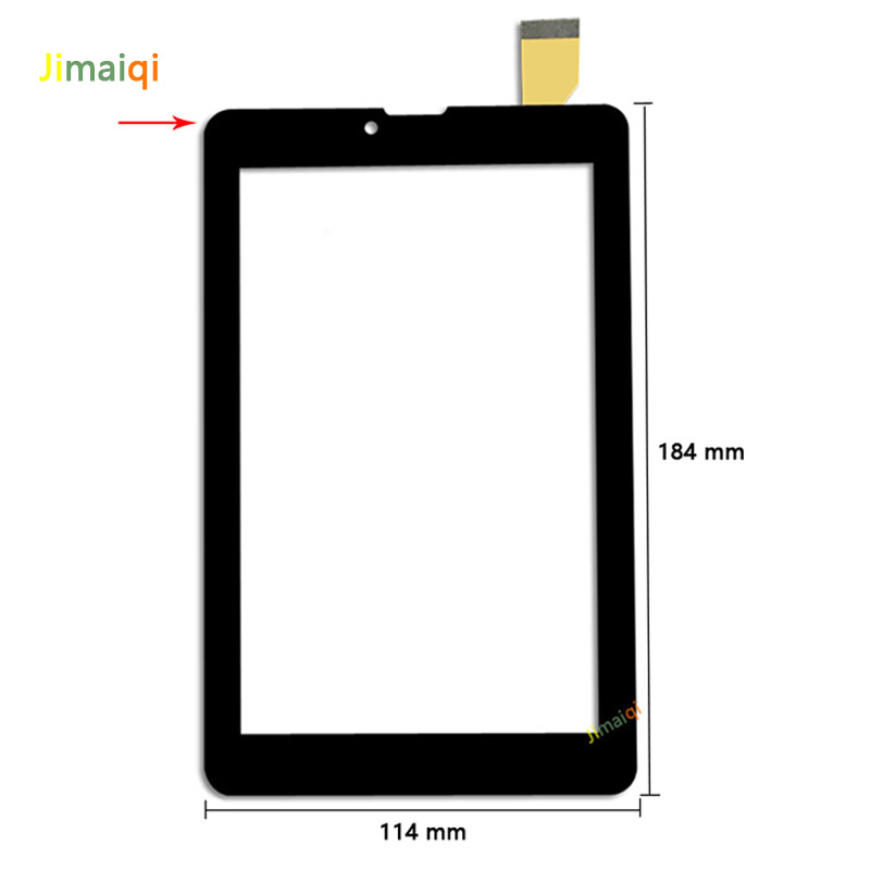 Image 2 - New For 7'' inch Irbis TZ742 3G tablet External capacitive Touch screen Digitizer panel Sensor replacement Phablet Multitouch-in Tablet LCDs & Panels from Computer & Office