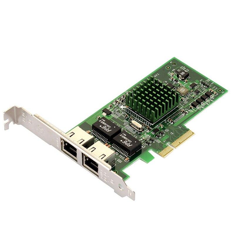 BCM5709 network card PCIe server dual-port Gigabit Ethernet card compatible 9402pt / 82571