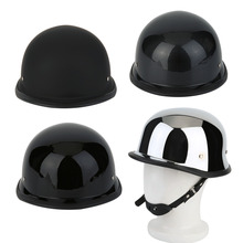 Фотография Fashionable Motorcycycle Helmets Half German Style Vintage Motorcycle Helmet Durable Half Face German Helmet M/L/XL