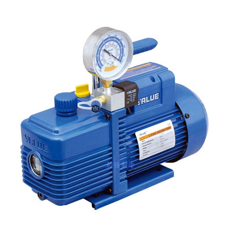 2L 3.6m3/h 370 w Nouveau Réfrigérant Pompe À Vide V-i240SV Climatisation Pompe De Pompage Filtre pour R410 R407C, r134a, R12, R22