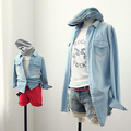 New Spring and Autumn mother and daughter clothes Family Clothing set Korean fashion denim shirt Family Matching Outfits