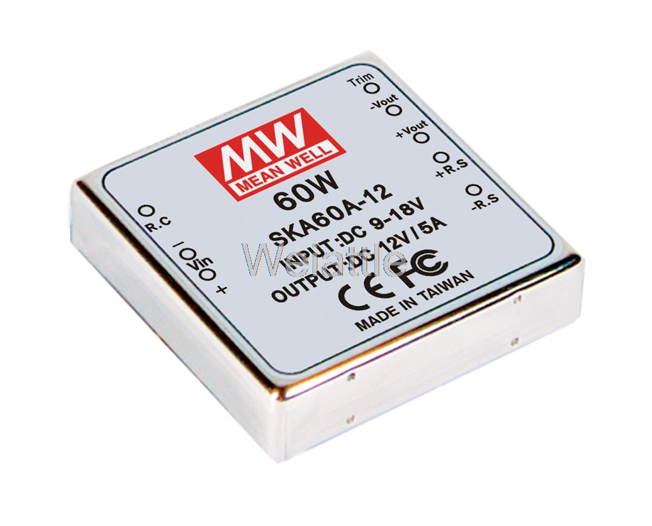 цена на [Cheneng]MEAN WELL original SKA60A-12 12V 3.33A meanwell SKA60 12V 60W DC-DC Regulated Single Output Converter