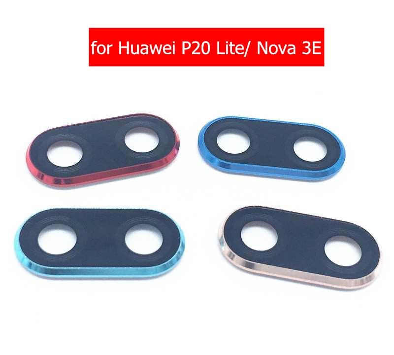 Frame-Holder Lens-Frame Camera Glass Repair-Spare-Parts Huawei P20 Glass-Lens Back-Rear