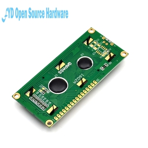 Image 2 - 1pcs LCD 1602 Blue screen 5V Character LCD Display Module Blue Blacklight New 16X2