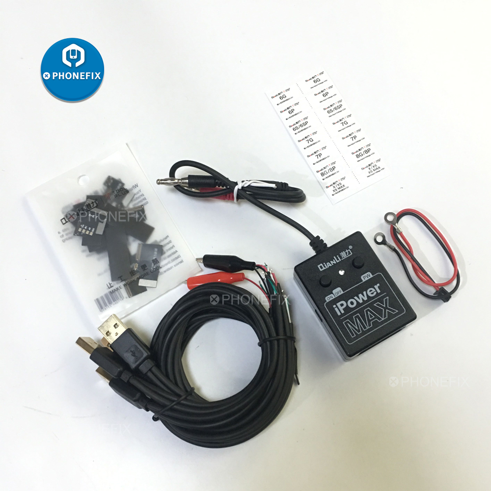 PHONEFIX New Power Supply Cable iPower Max Pro Test Cable for iPhone XS Max X 8 8P 7G 6S 6 Plus DC Power Control Test Cable