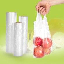 Мульти-размер рулонов Органайзер вакуумный мешок герметик многоразовые кухонные хранения пищи