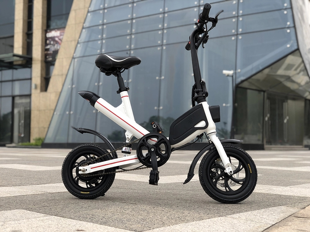 Elektro-scooter Nett 350 Watt Faltbare 2 Rad Elektrische Roller 6,6 7.8ah