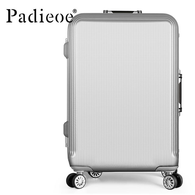 2017 Commercial Suitcase 20 22 24 Inch Spinner Wheel ABS Trolley Travel Rolling Luggage Suitcases Women M Trolley Luggage