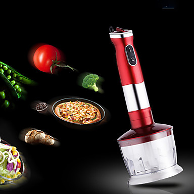 Immersion Blender Hand Blender Stick Mixer Food Processor Egg Whisk Robust Stainless Steel, 3 in 1 500W konka multifunctional food processor powerful 300w immersion hand blender mixer variable blender motor kitchen tools egg whisk