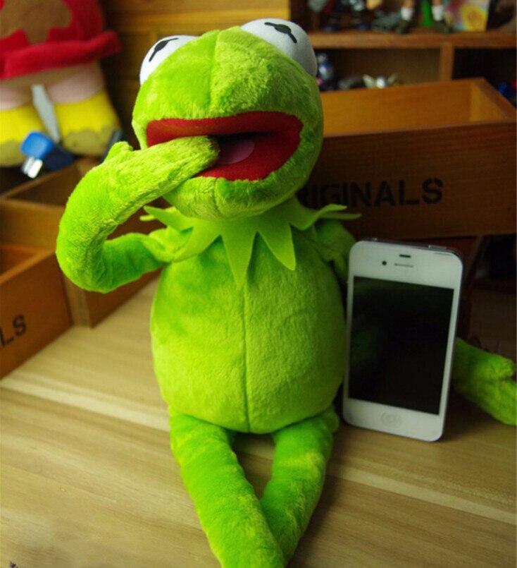 Kermit Frosch Plüschtier Sesamstraße Stofftier Puppe Ganzkörper Spielzeug NEU 40