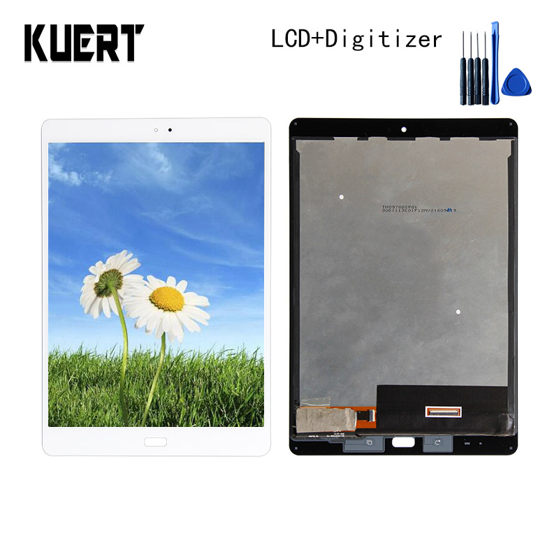 For ASUS ZenPad 3S 10 Z500M P027 Z500KL P001 LCD Combo Touch Screen Digitizer Glass Display Assembly Accessories Parts new 9 7 lcd display touch screen panel digitizer glass assembly replacement with frame for asus zenpad 3s 10 z500m p027