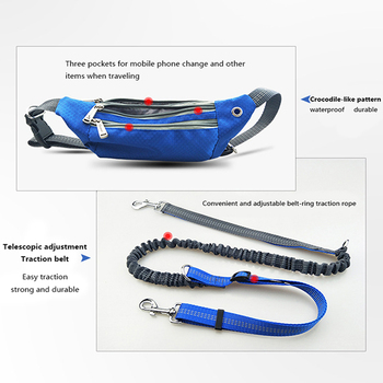 Hands Free Multi Function Dog Belt 1