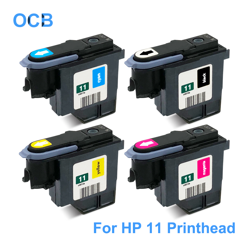 For <font><b>HP</b></font> 11 <font><b>Printhead</b></font> C4810A C4811A C4812A C4813A Print Head For <font><b>HP</b></font> Designjet 11 70 100 110 111 120 500 <font><b>510</b></font> 500PS 800 815 820 2200 image