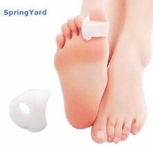 SpringYard (2 pairs/lot) Gel Toe Separator Hallux Valgus Orthopedic Overlapping Toes Corrector Soft Cushion Foot Care