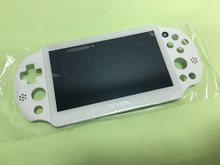 White Lcd original 100%new for ps vita psv psvita 2 2000 display lcd screen assembled with frame(China)