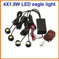 2016 10W IP68 strobe flash light bulbs car reversing light backup light tail stop daytime running light eagle eye led white