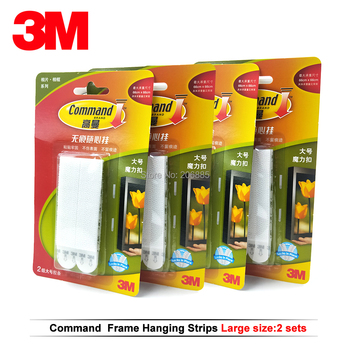 8pcs large 3M command Picture Hanging Strips Command damage-free magic strip Command Inter Locking Faster фото