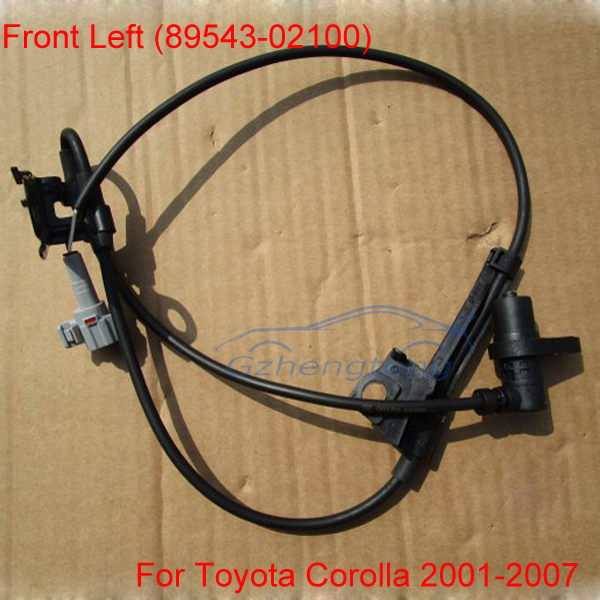 New ABS Wheel Speed Sensor Front Left 89543-02100 For Toyota Corolla 2001-2007