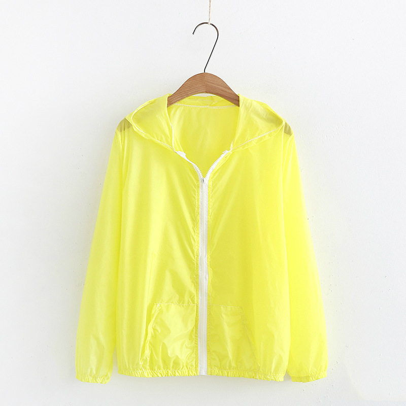 2019 New Summer Ultra-thin Skin Sports Outdoor Women's Quick-drying Sunscreen Waterproof Breathable Air Conditioning Jacket